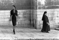 1987 Sicilia: Ferdinando Scianna sign the 2th fashion catalogue for Dolce & Gabbana with Marpessa model.