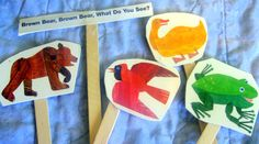 Ten for Tuesday: Puppets for Storytime - Simple Puppets You Can Make Yourself!
