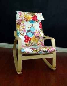 IKEA POÄNG Cushion Slipcover. Anna Maria Horner's Lou Lou Thi Summer by RockinCushions, $79.00. Perfect for a summer!!