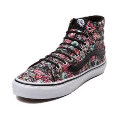 ccdc5699e3 Shop for Vans Sk8 Hi Slim Floral Skate Shoe in Floral at Journeys Shoes.  Shop