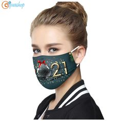 Buy Happy New Years 2021 Disposable Mask at equashop.com! Free shipping Worldwide. 45 days money back guarantee.
