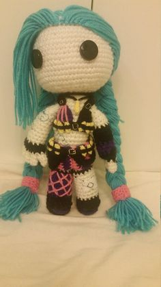Rules are made to be broken... like buildings! Or people!  Have your very own loose cannon Jinx doll cheer you on from the side lines, or gift it to