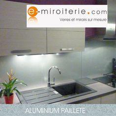 1000 images about cr dences cuisine en verre sur mesure on pinterest credence cuisine for Plaque alu cuisine sur mesure