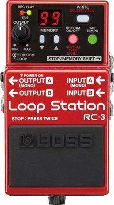 Looper Boss RC-3 Loop Station: 271 photos, 33 discussions dans les forums, 20 avis, 18 prix, 8 annonces, 3 news, 2 fichiers à télécharger, 2 vidéos, 1 astuce et 1 extrait audio