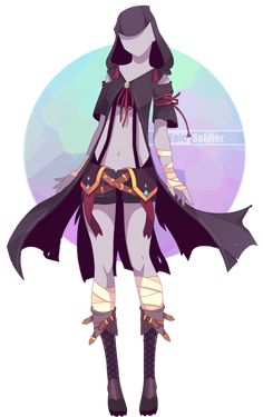 Outfit adoptable 61 (OPEN!!) by Epic-Soldier.deviantart.com on @DeviantArt