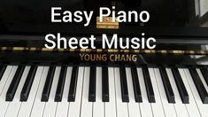 How Great Thou Art Piano Tutorial Slow Easy Beginner Letters Pdf Piano Songs For Beginners, Beginner Piano Lessons, Free Piano Lessons, Easy Piano Songs, Sheet Music With Letters, Print Sheet Music, Easy Piano Sheet Music, Classical Piano Music, Free Piano Sheets