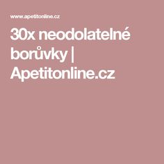 30x neodolatelné borůvky   Apetitonline.cz