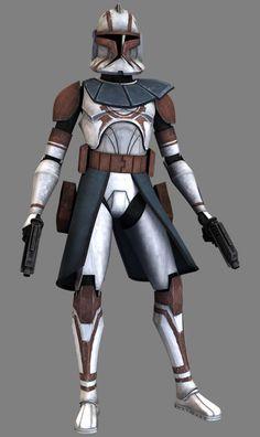 Clone Trooper; Clone Commander; Brown Faction