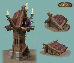 ArtStation - Vrykul Building Concepts for World of Warcraft, Ishmael Hoover