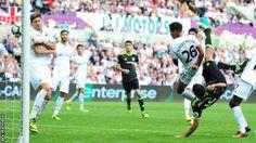 Swansea City 2-2 Chelsea - BBC Sport