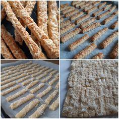 Omlós sajtos rúd - MesiNasi - Sütemény és Egyszerű Étel Receptek Rum, Bread, Food, Brot, Essen, Baking, Meals, Rome, Breads