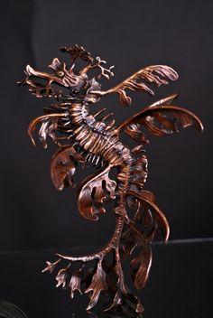 Sea Fairy (Leafy Sea Dragon) by Kirk McGuire. Bronze, 2012