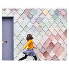 """Pantone tiles #sugarhouse #yardhouse"" via @ssandinmyshoes instagram"