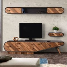 The How to Set Up Your Living Room ( Without a Focus on the TV ) Pitfall - myriadinspira unit decor Scandi Tv Unit Decor, Tv Wall Decor, Tv Cabinet Design, Tv Wall Design, Tv Unit Furniture, Furniture Design, Modern Tv Wall Units, Living Room Tv Unit Designs, Woodworking Projects Plans