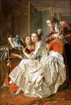 trinquesse_music_party Louis Rolland Trinquesse – The Music Party 1774