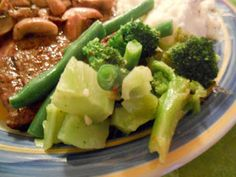 Heat's Kitchen: Green Beans and Broccoli