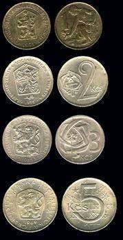 Kovové mince Commemorative Coins, Retro 1, Old Coins, Socialism, Old Photos, Childhood Memories, Pictures, Gayatri Mantra, Prague