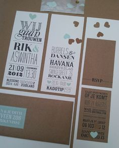 Wedding card ' Rik  Aswinta