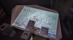 Breheimsenteret interactive map
