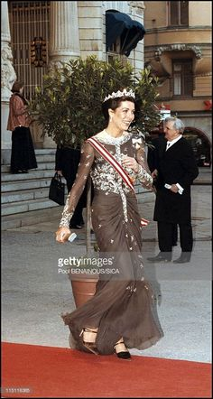 50th anniversary of king Carl Gustav of Sweden in Stockholm, Sweden on April 30, 1996 - Princess Caroline of Hanover.