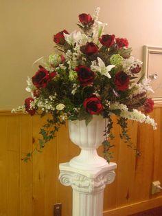 Church Floral Displays | Flower Arrangements | Abbi's Bridal Design