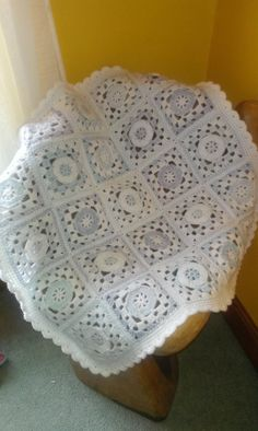 Crochet baby blanket by pumpkinandpickle on Etsy, £24.99