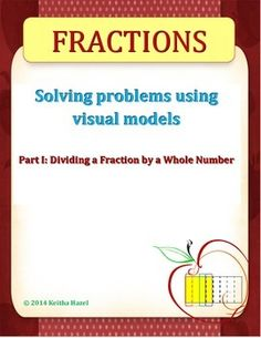 Th Sounds Worksheets Excel Dividing Unit Fractions By Whole Numbers On A Number Line  Times Tables Worksheets Ks2 Word with Time Words Worksheet This Tutorial  Worksheet On Dividing A Fraction By A Whole Number Using  Visual Models Math Fact Worksheets 2nd Grade