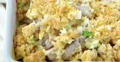 This is the perfect dish for a nice brunch or lunch! Who can resist this out-of-this-world chicken cornbread cowboy casserole? No one!
