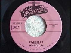 Ron Holden - Love You So (BB Thunderbirds)