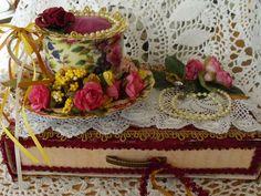 Bobbij's Gallery: Teacup pincushion