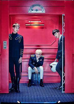 BTS ~Rap Monster, Suga, J-Hope~ ❤