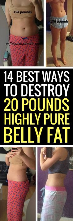 14 best tips to eliminate belly fat for good.