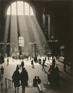 VINTAGE PHOTOGRAPHY: New York Original Pennsylvania Station, New York 1929