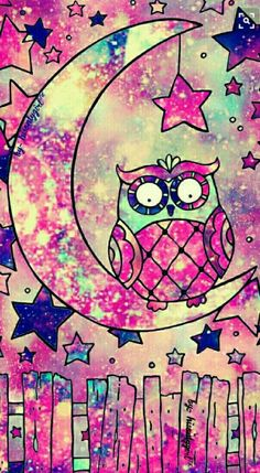 Cute owl drawing galaxy wallpaper i made for the app cocoppa. Cute Owls Wallpaper, Cute Wallpaper For Phone, Cellphone Wallpaper, Pattern Wallpaper, Cocoppa Wallpaper, Galaxy Wallpaper, Purple Wallpaper, Cool Backgrounds, Wallpaper Backgrounds