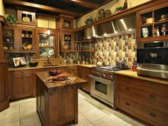 Old World Style Decorating Ideas | Old World Kitchen Ideas | Traditional and Old World Kitchen Ideas CMEG ...