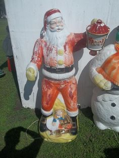 1000 Images About Blow Mold Christmas On Pinterest