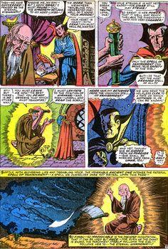Strange Tales #147-156 (Dr. Strange) : SuperMegaMonkey : chronocomic