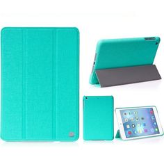 HOCO Star Series Tri-Fold Smart Wake/Sleep Leather Stand Case for iPad Mini Retina 2 - Green