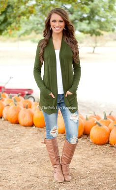 48 Best Green Cardigan Outfit Images In 2019 Green Cardigan Green