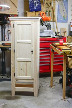 Chimney Cupboard by Page Phelps - woodworking