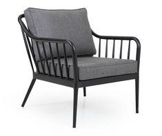 Brafab Colville -nojatuoli   Vepsäläinen Outdoor Lounge, Outdoor Chairs, Outdoor Decor, Sofa Chair, Armchair, Garden Furniture, Outdoor Furniture, Zen House, Aluminium