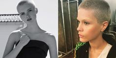 Short Hair, Don't Care: 11 Models With Buzzcuts  - HarpersBAZAAR.com