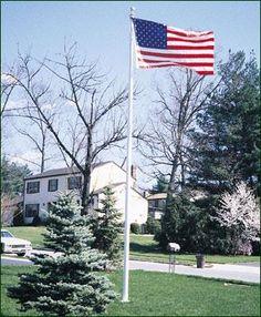 flagpole cleat