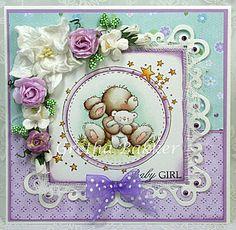 Het kaartenhoekje van Gretha: Lili of the Valley 'Starry Bunny'