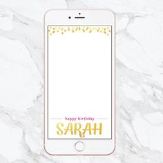 Birthday Snapchat Geofilter, Snapchat Filter, Custom Birthday Filter…