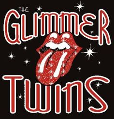 Mick and Keith are the Glimmer Twins!!