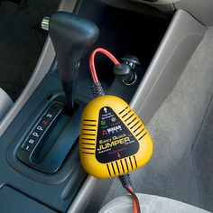 Jumpstart your car in 5-10 minutes without opening the hood.