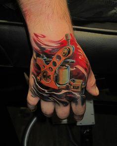 Hand Tattoo - 60 Eye-Catching Tattoos on Hand