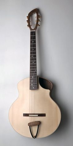 """KOPO Gloucester. Like the design (except for the fretboard which is making me think """"oh crap, I just broke a string"""")."""