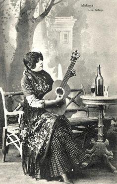 """A romantized rroma woman. The Golden Years, Flamenco Dancers, Retro Images, Spanish Style, Granada, All Art, Gypsy, Retro Vintage"